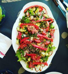 Los findes también son para cuidarse  #salad #ensalada #family #healthyandhappy #health #cleaneats #cleaneating