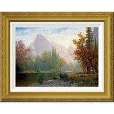 Found it at Wayfair - 'Half Dome: Yosemite' by Albert Bierstadt Framed Painting Print