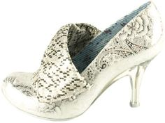 Irregular Choice: Mrs Blewett  The perfect Cinderella shoe!