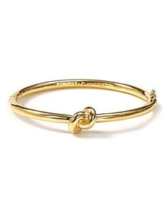 kate spade new york Sailor's Knot Hinge Bangle | Bloomingdale's