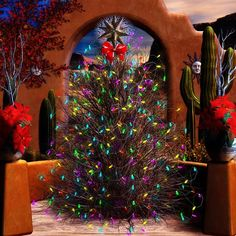 southwestern christmas tree bing images - Southwest Christmas Decorations