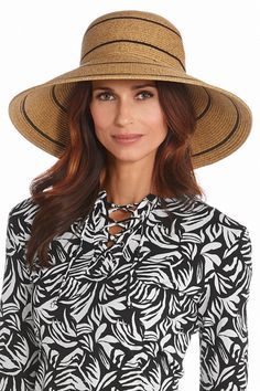 Women s Wide Brim Beach Hat UPF 50+ 72e15957bcbf
