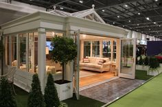Wintergarten Anglian Orangery at Grand Designs Live. It looked fantastic (sure you agree) and had ma House Extension Design, House Design, Natur House, Grand Designs Live, Sunroom Windows, Sunroom Addition, Family Room Addition, Four Seasons Room, Garden Room Extensions