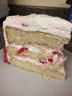 Strawberry Italian Cream Cake