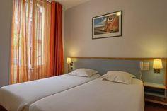 Hôtel At Gare du Nord***, (Maranatha Hotels) Europe Destinations, Hotel Deals, Location, Paris France, Curtains, Bed, Places, Furniture, Home Decor