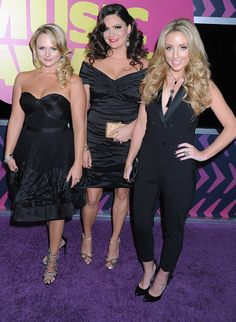 Miranda Lambert and her bandmates in The Pistol Annies, Angaleena Presley and Ashley Monroe, were the ladies in black. Going into the awards 2012 CMT Music Awards, Lambert was the artist with the second-most nominations — four, including two for her solo work and two for her work with the all-girl group.
