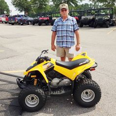 Thanks to Durwin Gipson from Lumberton MS for getting a 2015 Can Am DS90. #HattiesburgCycles