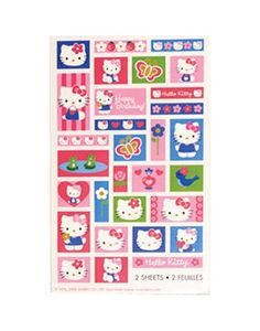 Hello Kitty Stickers 2 Sheets - Party City