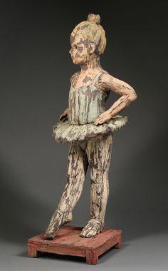 "Margaret Keelan: ""Little Ballerina in Yellow Hair"" at Gail Severn Gallery"