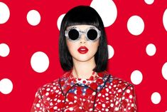 Slideshow: The Full Yayoi Kusama for Louis Vuitton Lookbook -- The Cut