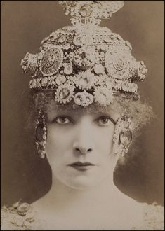 W Downey, Sarah Bernhardt in Theodora, 19th century