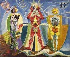 L'homme emblématique - Andre Masson  1939