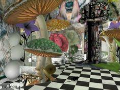 Alice In Wonderland Room On Pinterest