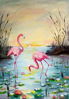 Pink flamingo original oil painting Colorful canvas wall art Bird animal large painting Each picture brings a different mood. This painting is filled with a lot of tenderness and harmony of colors, and therefore it lends itself with relaxation, tranqu Flamingo Painting, Flamingo Art, Pink Flamingos, Large Painting, Acrylic Painting Canvas, Canvas Wall Art, Bird Canvas, Canvas Canvas, Gouache Painting