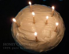 Beeswax - Honey Candles® Natural Birthday Candles