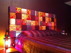 Padded Patchwork Headboard