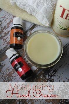 Moisturizing Hand Cream with Essential Oils