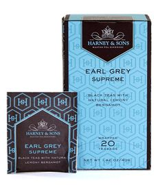 The King of Earl Greys. Loose leaf, please. Harney and Sons.