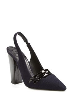 Tory Burch 'Kay' Slingback Pump available at #Nordstrom
