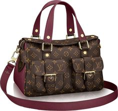 Fall Winter 2017 Collection. Louis Vuitton Manhattan Bag. Newest #LV #Handbags For Fashion Women.
