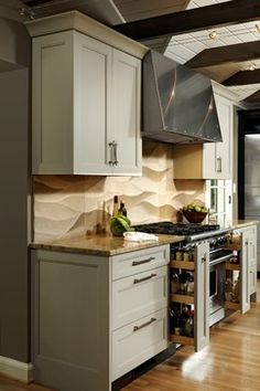 Melding Myriad Materials into a Cohesive Space - transitional - Kitchen - Dc Metro - Jennifer Gilmer Kitchen & Bath
