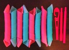 New! 8 EXTRA LONG & SUPER WIDE Spiral Magic Rollers, Curlers #Unbranded