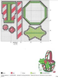 Plastic Canvas Ornaments, Plastic Canvas Tissue Boxes, Plastic Canvas Christmas, Plastic Canvas Crafts, Plastic Canvas Patterns, Plastic Baskets, Christmas Crafts, Christmas Decorations, Christmas Ornaments