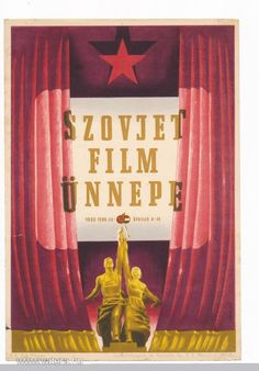 VB45 Szovjet film ünnepe,  villamosplakát 1953 plakát - Vatera.hu Posters, Retro, Home Decor, Movie, Poster, Decoration Home, Room Decor, Retro Illustration, Home Interior Design