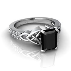 Black – the color of night & elegance. Love black onyx jewelry.