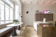 Paris Apartment Designed by Rodolphe Parente