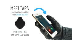 TAPS - Touchscreen Sticker with Touch ID
