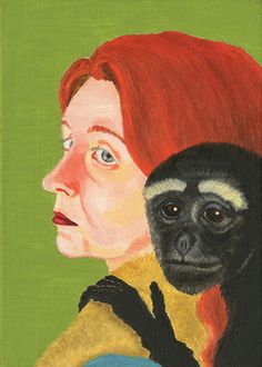 Audrey Niffeneger--Lady with Monkey, 2005