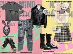 1970s punk fashion pictures - Google Search