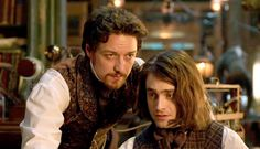 """Screened Out – Victor Frankenstein (***) """"Even as it misses some gargantuan opportunities, Victor Frankenstein is still worth seeing. McAvoy and Radcliffe have talent and chemistry. I just kept wishing their cozy, bloody little duet would hurry up and become a terrifying trio."""""""