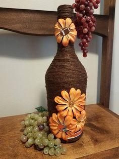 Floral Cleveland Browns Bottle