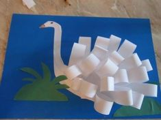 'S' for 'swan' - I'd like to make the neck look more like a letter 's' too, Letter S Crafts, Book Crafts, Fun Crafts, Arts And Crafts, Paper Plate Crafts For Kids, Craft Projects For Kids, Insect Crafts, Paper Weaving, Quilling Patterns