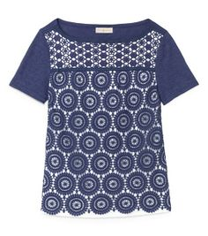 margaux top / tory burch
