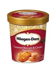 Caramel biscuit & cream speculoos Haagen-Dazs