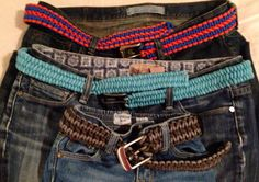Paracord Belt - so fun & Easy to Make