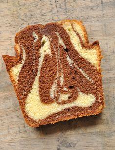 Le véritable Cake Marbré au chocolat