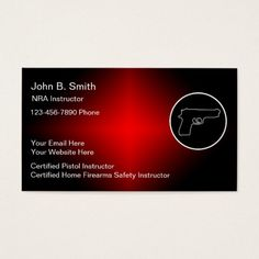 191 best security business cards images on pinterest in 2018 firearms instructor business cards colourmoves