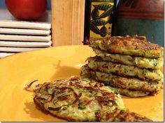 Gluten-Free, Vegan Zucchini Fritters