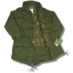 Rothco Classic Mod 60's Retro US Army M-51 Fishtail Parka Jacket Olive Thumbnail 2