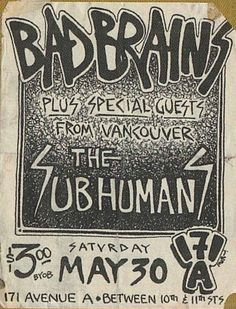 Bad Brains - Live!