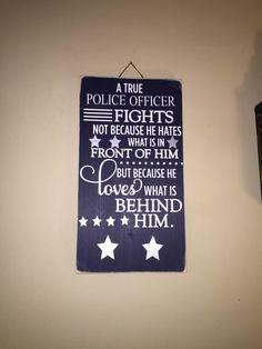 Cartel oficial de la policía un signo de por SandJBargainVault