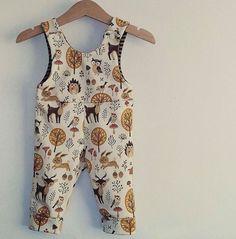 Baby woodland Dungarees, Bambi Romper, Bunny, Fox, Birds, Bambi, Toadstools, Woodland, Baby Gift, Baby Shower, Unisex, Baby Girl, Baby Boy