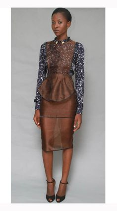 Maki Oh Fall 2012 Collection By Nigerian Fashion Designer Amaka Osakwe Debuts (PHOTOS)