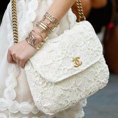 Acessórios da Chanel - Paris Fashion Week - Spring 2015