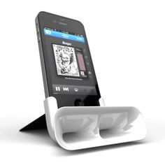 Passive Amplifier for iPhone by Mark Simmons, via Behance