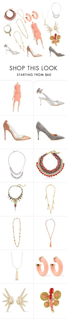 """Admirable fashion"" by racheal-taylor on Polyvore featuring Roland Mouret, Sophia Webster, Gianvito Rossi, Alexis Bittar, Ben-Amun, Kenneth Jay Lane and Oscar de la Renta"